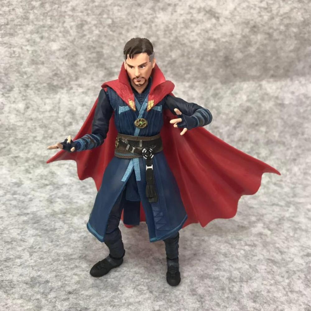 SHFiguarts Avengers Infinity War Black Widow Thanos Iron Man SpiderMan Star Load Doctor Strange Captain America Action Figure (9)