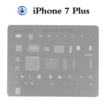 1 Piece Phone Logic Board Tool For iPhone 7 7plus 6 6s 6Plus 5s SE Motherboard IC Chip Ball Soldering Net Stainless Steel Plate