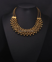 N2062 new fashion women quality jewelry product high quality necklace jewelry old gold necklace(China)