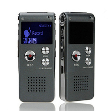 Voice Recorder 8GB Brand Mini USB Flash Digital Audio Voice Recorder 650Hr Dictaphone MP3 Player(China)
