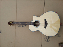 China handmade K20 Solid spruce best quality acoustic guitar(China)