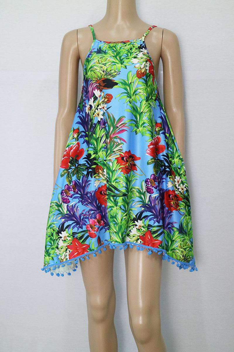LASPERAL Summer Dress 2017 Female Women Dress Summer Style Vestido De Festa Sundress Plus Size Women Clothing Robe Beach Dress 7