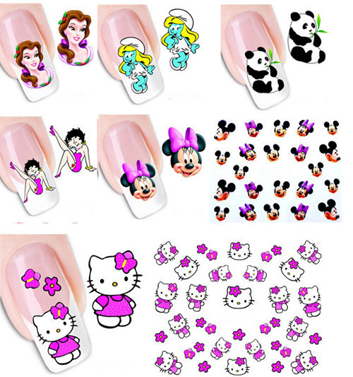 Nail Art Stickers Images And Design Ideas Decals Transfers