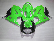 Fit for Kawasaki Ninja fairings 250r 2008-2013 2014 injection molding ZX250 08-14 green black motorcycle fairing kit EX250 NZ15