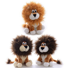 Golden Brown Wobbly Lion Plush Stuffed Animal Collection Doll Home Decor Toy Lovers Gifts 9 '' New Arrival