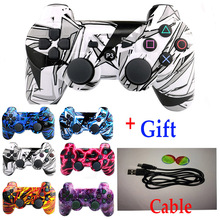 high quality Wireless Bluetooth Joysticks for SONY PS3 Controller for DUALSHOCK 3 SIXAXIS for PlayStation 3 Game Controller