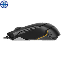 2016 New James Donkey 125M sports car gaming mouse Optical USB 6 button 5000DIP Metal Mouse For desktop gamer CS LOL