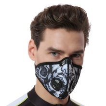 Buy Cycling Face Mask Anti-dust Windproof Activated Carbon Bike Bicycle Anti-pollution Anti-fog Half Face Dust-proof Filter Masks for $7.13 in AliExpress store