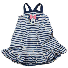 Retail 2-7 yrs Girls Minnie Mouse Slip Dress Princess Cotton Clothing Girls Minnie Costume Dresses