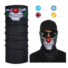Face Mask Shield Sun Protection Neck Gaiter Balaclava Bandana Crazy Clown
