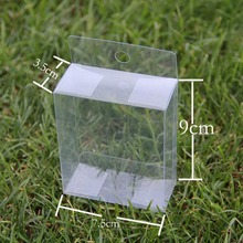 Transparent Boxes PVC Boxes Clear Plastic Boxes PP Boxes For Party Gift 12pcs