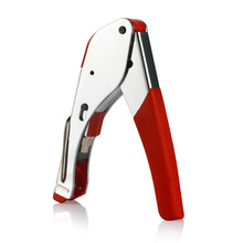 Wholesale Coaxial RG6 RG59 F RCA Coax Cable Cutter Plier Connector Compression Hand Tool Crimper Top Quality