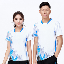 New Sports Badminton wear shirt Women/Men's , sports Tennis shirt , Table Tennis shirt , Quick dry sportswear shirt 8801(China)