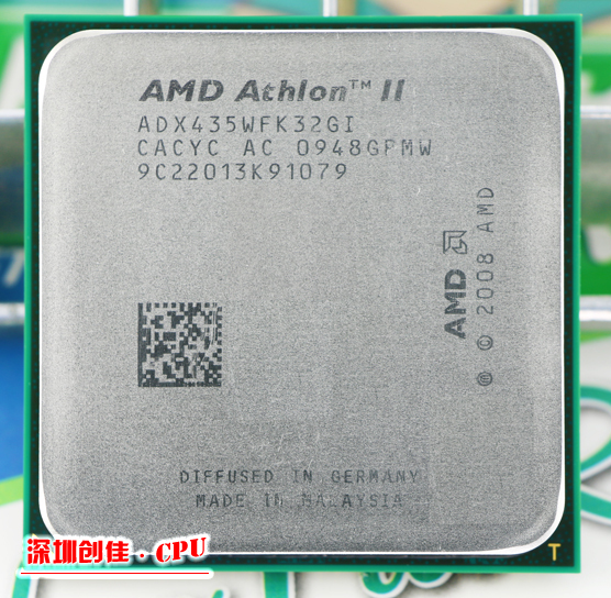 AMD AthlonII X3 435 2.9 GHz Triple-Core Socket AM3 Desktop CPU Processor scattered