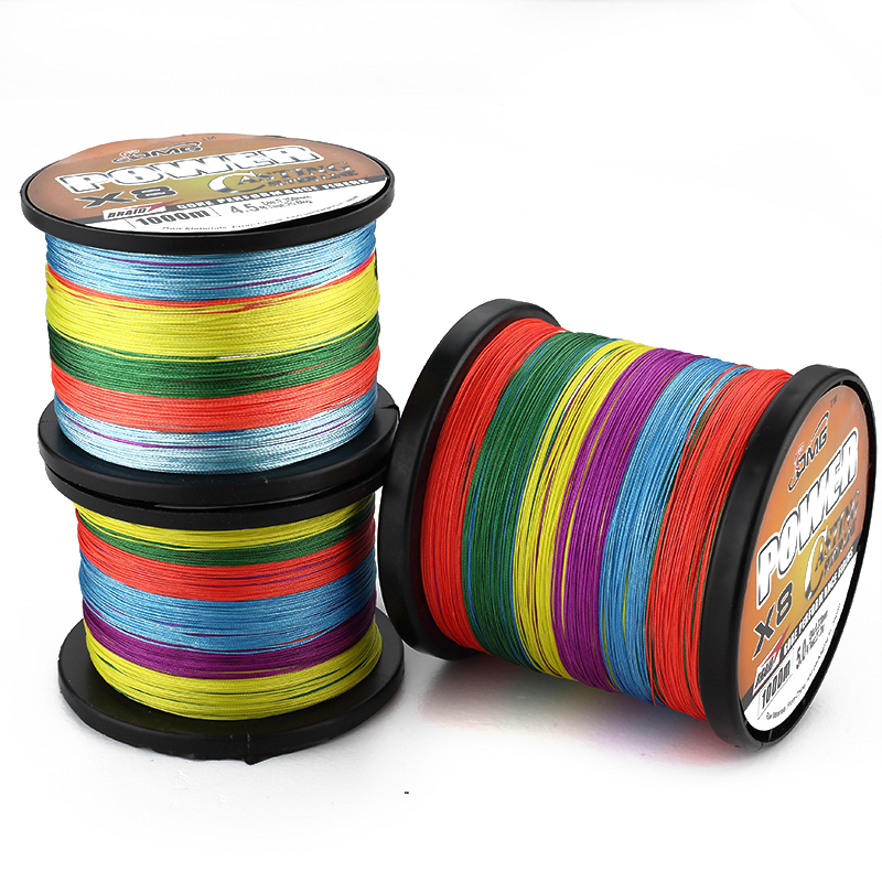 High Quality 1000M 10m 1Color  Fishing LINE Polyethylene Material OMG Brand Multifilament Braided Fishing Line 8 Strands<br><br>Aliexpress