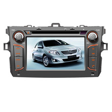 NAVITOPIA Wince 6.0 Car Multimedia Player for Toyota Corolla 2006 2007 2008 2009 2010 2011 Car DVD Video GPS Navigation FM Radio(China)