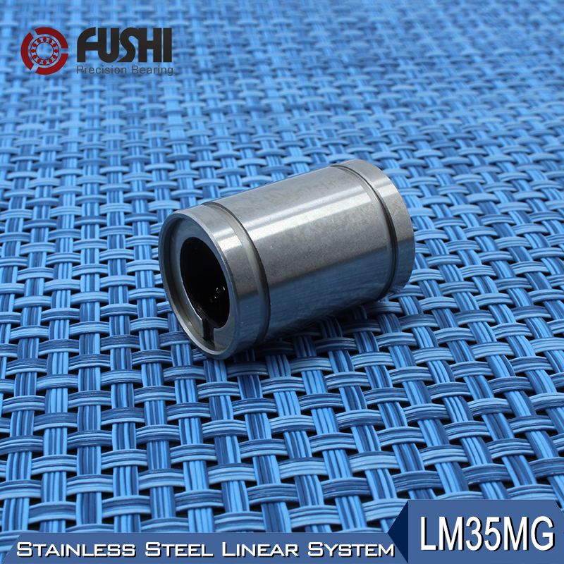 LM35MG Linear Ball Bearings 35x52x70mm (1 PC) Stainless Steel Resin Retainer Linear Bushing LMS35UU Shaft 35MM LMS35 MG Bearing<br>