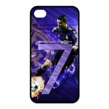 Cristiano Ronaldo CR7 Football case for samsung galaxy s2 s3 s4 s5 mini s6 edge Note 2 3 4 and case for iPhone 4s 5s 5c 6 Plus