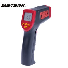 12:1 Handheld Non-contact Digital Infrared IR Thermometer Temperature Tester Pyrometer LCD Display with Backlight(China)