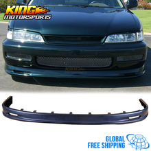 For 96 97 Honda Accord Coupe Sedan 4Cyl MUG PU Front Bumper Lip Spoiler Global Free Shipping Worldwide