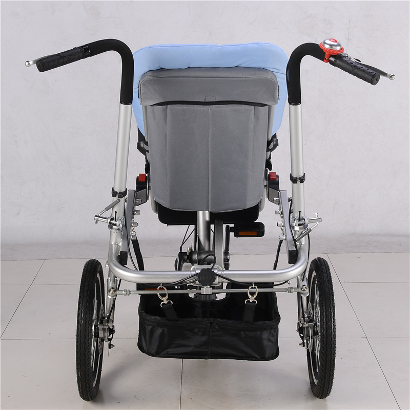 2018 New Mother & Kids Activity & Gear Baby Stroller Three Wheels Stroller TaGa Baby Bike Stroller Mummy Bicycle Pushchair 04