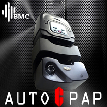 BMC GI Auto CPAP Machine Hot Sale Mini Black Shell Resmart Respirator For Anti Snoring Sleep Apnea With Mask Humidifier