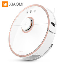 New Original Xiaomi robot vacuum cleaner 2 Wet drag mop Smart Planned with water tank Automatic Sweeping Dust WIFI APP Control
