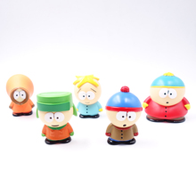 High Quality 5 PCS South Park Figure Toy Doll Cartman Kenny Figures Stan Series New Gift kids gift cute toy(China)