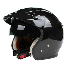 Fashion halley ZEUS 381C 3/4 helmet vintage motorcycle helmet retro Moto Casco scooter capacete open face helmet M L XL XXL DOT(China)