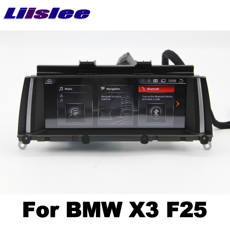 For BMW X3 F25 2011~2013 LiisLee Car Multimedia GPS Audio Hi-Fi Radio Stereo Original Style For CIC Navigation NAVI 01