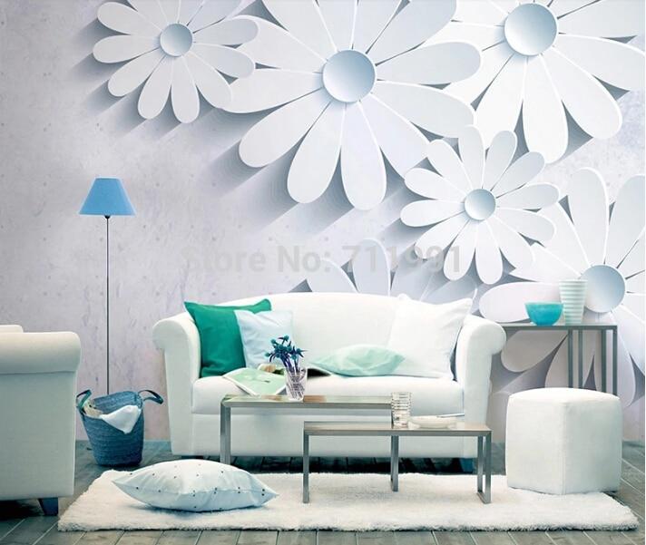 Custom floral wallpaper, 3d stereoscopic wallpaper for living room bedroom sofa background wall waterproof PVC papel de parede<br>