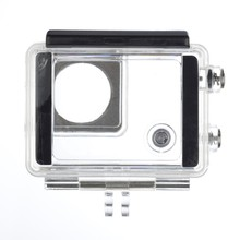 Replacement Waterproof Protective Housing Case with Bracket for GoPro Hero 3+ 4 Camera Go pro 4 accessories