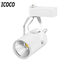ICOCO High Quality 3W LED Track Light Commercial Lighting Renovation Led Ceiling Spot Lamp Clothing Store AC 85-265V Wholesale(China)