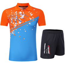 Free Print Qucik dry cool Badminton sports clothes Women/Men , Tennis suit , table tennis clothes, badminton wear sets 3868(China)