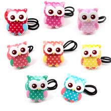 1PCS New Cute Baby Headband Korean Fashion Boutique Headwear Children Cartoon Owl Hair Rope Headdress Girls Hair Accessories