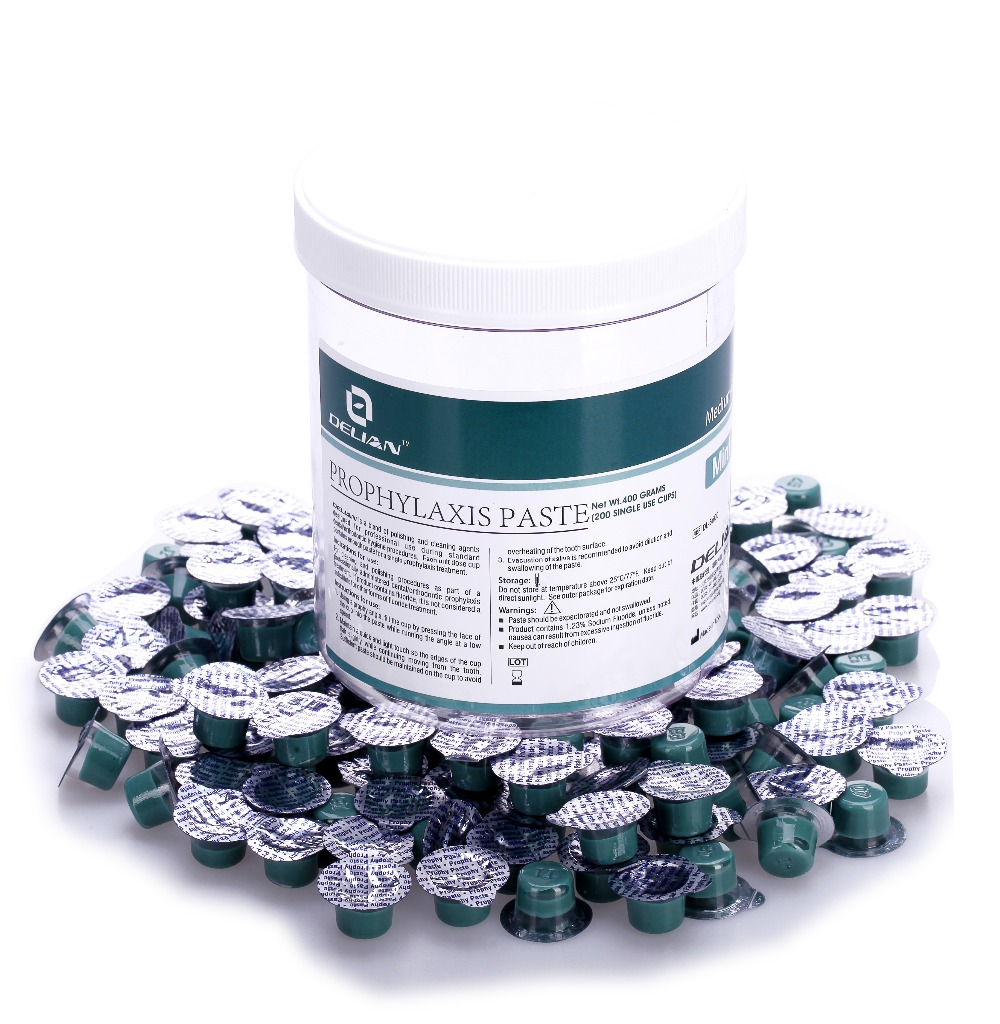 Prophylaxis Paste Mint Flavor Dental Product <br>