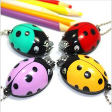 Lovely cartoon nail clippers cute ladybug stainless steel nail clippers professional nail clippers borde toe nail clippers