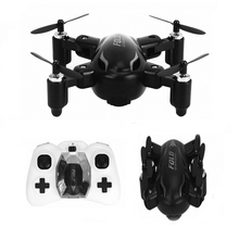 RC Mini Drone X31 Foldable Drone Radio Control Toys Pocket Drone 2.4G 4CH 3D Roll Foldable RC UFO Aircraft wtih Light