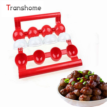 1Pcs Newbie Meatballs Maker Stuffed Pattie Meatballs Fish Balls Maker Homemade Mould DIY Meat Poultry Tools Kitchen Accessories