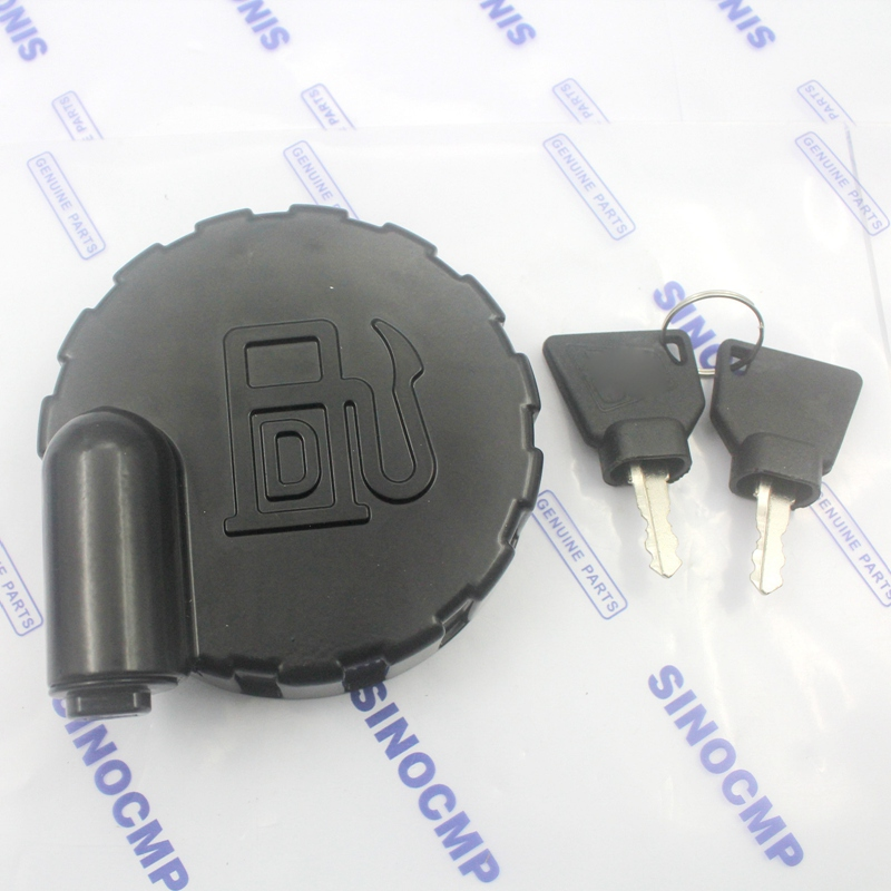 123//05892 DIESEL FUEL CAP WITH 2 KEYS FOR VARIOUS JCB  MODELS JCB PARTS