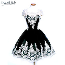 Buy YELIANHU Embroidery Dress 2017 new Autumn Fashion Hollow Ball Gown Mori girl Dress Women Cute Party Sexy Dresses 5JQ181 for $19.64 in AliExpress store