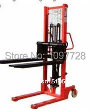 Good quality 2T hand stacker with lifting heigt to 1.6M, cheap stacker for loading cargos to truck with one year warranty