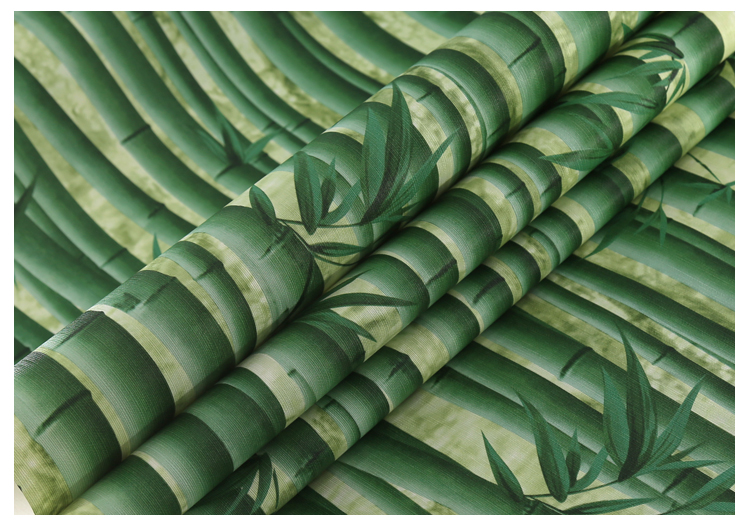 3D Bamboo Wallpaper Restaurant, House Hotel, Passage Hall, TV Background Wall, Classical Chinese Style Wallpaper