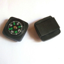 Mini Compass for Paracord Bracelet Outdoor Camping Hiking Travel Emergency Survival Navigation Tool Compass(China)