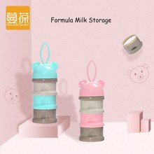 Buy New Design Portable Cartoon Bear Baby Formula Milk Storage Mom Health Food Grade PP Material Mini Multifunction Storage Box for $9.79 in AliExpress store