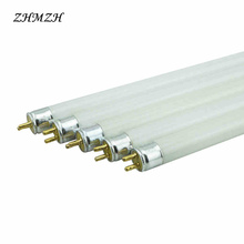 T4 Lamp Tube T4 Mirror Front Lamp Fluorescent 6W 8W White Yellow Blue Green Lens Headlight 220V Mirror Light(China)