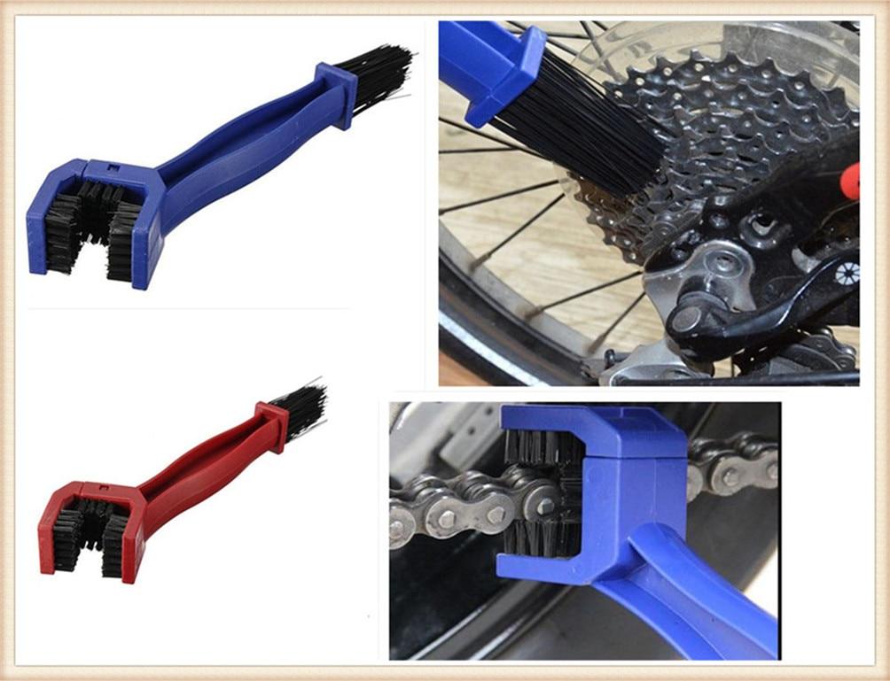Plastic motorcycle bicycle gear brush outdoor cleaning scrubber for YAMAHA FZ-09 MT-09 SR FZ6 FAZER FZ6R FZ8 MT-07 FZ-07
