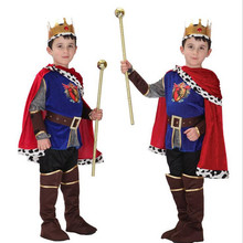Kids Boys Arab Prince Costume For Children Cosplay Props Stage Performance Clothing   Dress Party Supplies New Year