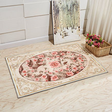 Europe Style Plant Flowers Carpet Area Rug For Bedroom Livingroom Carpet Kitchen Baths Mat Door Mat Anti-Slip Home Decoration(China)