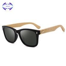 0d861d4132bd5 VCKA Primavera Dobradiça de Óculos De Sol De Madeira Feitos À Mão Óculos De  Sol Dos Homens óculos De Sol De Madeira de Bambu Mul.